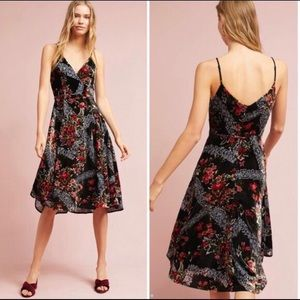 Gorgeous A-line Velvet Anthropologie dress